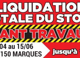 magasin liquidation Lyon